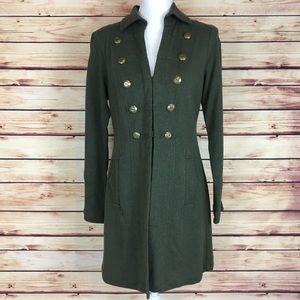 e9df4cabf7d CAbi Jackets   Coats - CAbi Cavilleri Jacket Green Military Pea Coat Sml